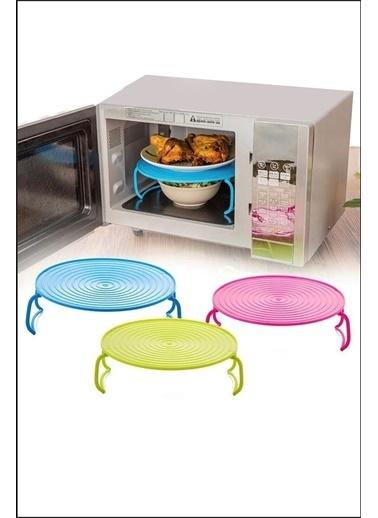 Kitchen Love Renkli Mıkrodalga ve Buzdolabı için ayaklı Raf Renkli